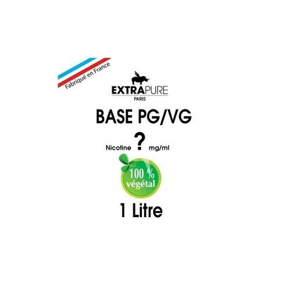 BASE 1 LITRE EN 0MG EXTRAPURE