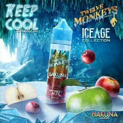 HAKUNA ICED 50ML - TWELVE MONKEYS