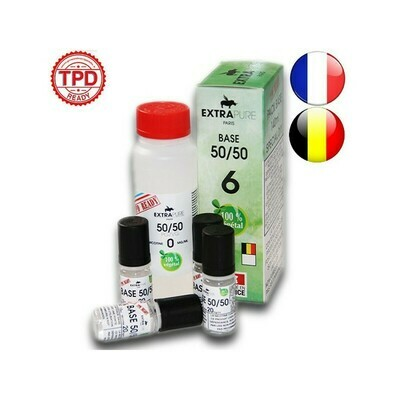 PACK 140ML BASE 6MG EXTRAPURE TPD