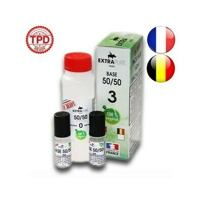 PACK 140ML BASE 3MG EXTRAPURE TPD
