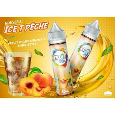 ICE TEA PECHE 50ML - FRUIT STYLE