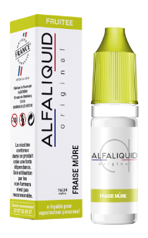 FRAISE MURE 10ML - ALFALIQUID