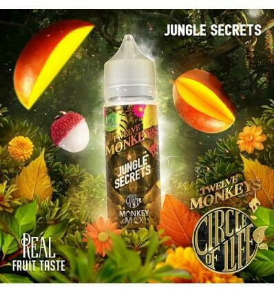 JUNGLE SECRETS 50ML - TWELVE MONKEYS