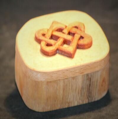 Bandsaw box oak teak and mahogany