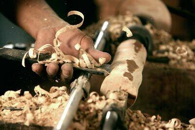 Basic Woodturning Starter Tuition 1 hour