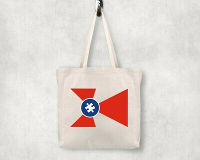 Autism ICT Flag Shopping Tote