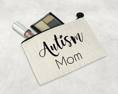 Autism Mom Zipper Pouch