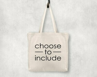 Choose to Include Shopping Tote