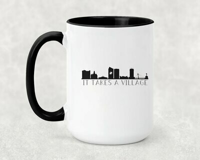 It Takes a Village ICT Skyline Coffee Mug