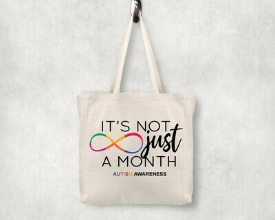 It's Not Just a Month Shopping Tote