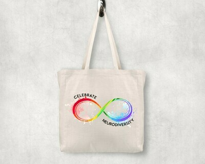 Celebrate Neurodiversity Shopping Tote