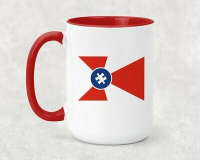 Autism ICT Flag Coffee Mug