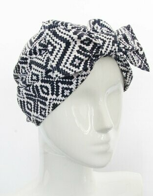 Banded Oncology Turban-Colonial
