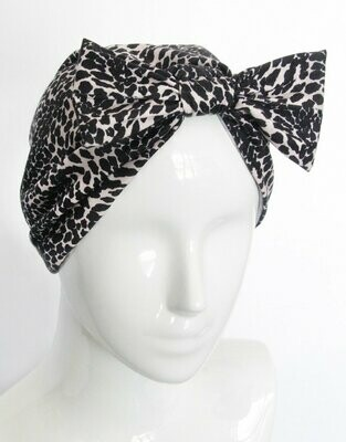 Banded Oncology Turban-Leopard