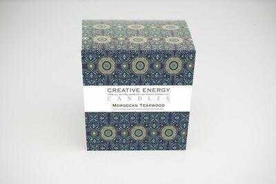 Creative Energy Candle Moroccan Teakwood