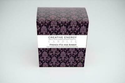 Creative Energy Candle French Fig & Amber