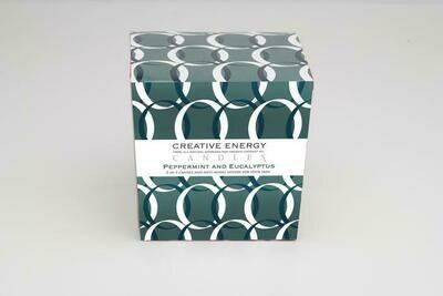 Creative Energy Candle Peppermint & Eucalyptus