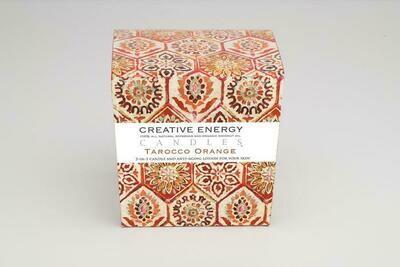 Creative Energy Candle Tarocco Orange