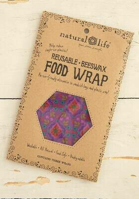 Natural Life-Beeswrap Wrap Set