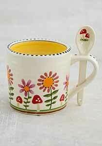 Natural Life-Mug & Spn Set