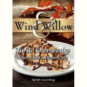 Wind & Williow Turtle Cheesecake Cheeseball & Dessert Mix
