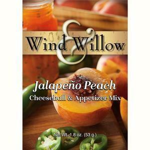 Wind & Willow Peach Jalapeno Cheeseball