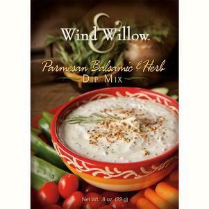 Wind & Willow Parmesan, Balsamic Hearb Dip Mix