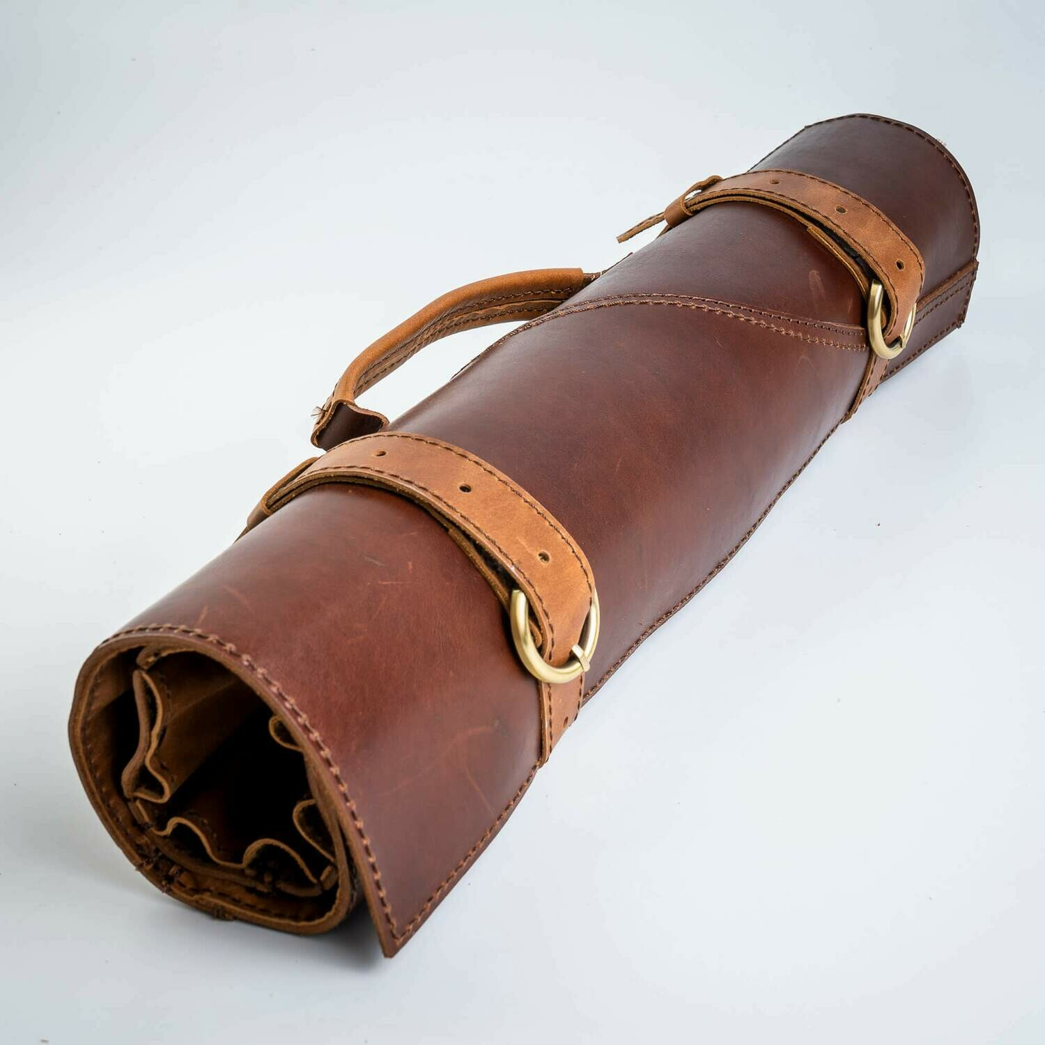 ROLL-LR529 - LEATHER BAG SCREW FOR KNIVES