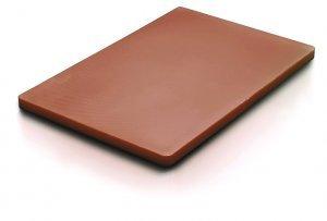 PE50302BROWN-Доска разделочная с антискользящими ножками  50*30