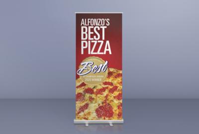 Custom Design Retractable Banner