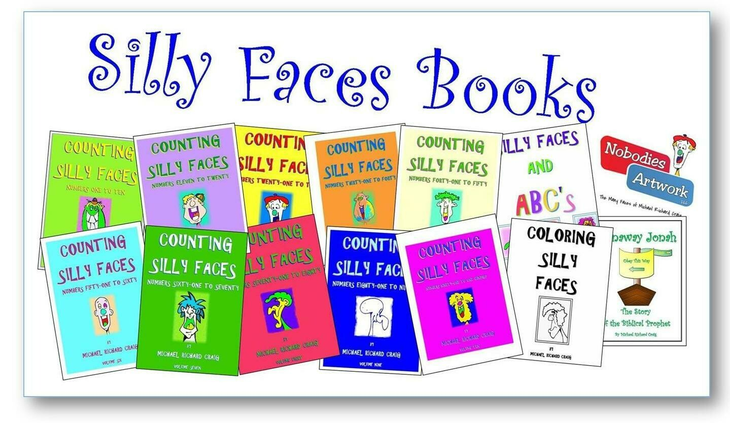 TO PURCHASE SILLY FACE E-BOOKS FOR ONLY $1.00 CLICK HERE!
