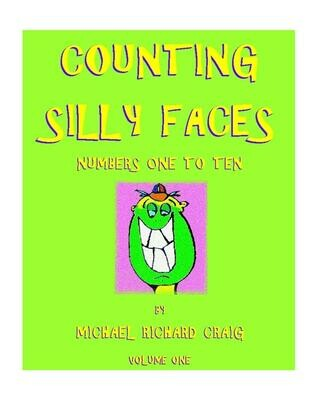 Counting Silly Faces E-Flipbook Numbers 1-10
