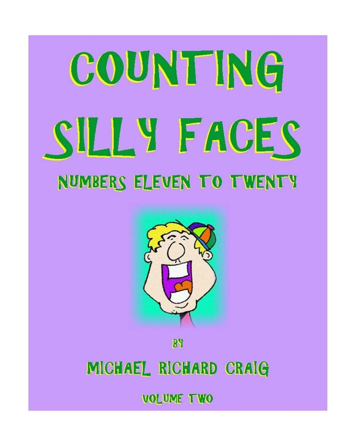Counting Silly Faces E-Flipbook Numbers 11-20