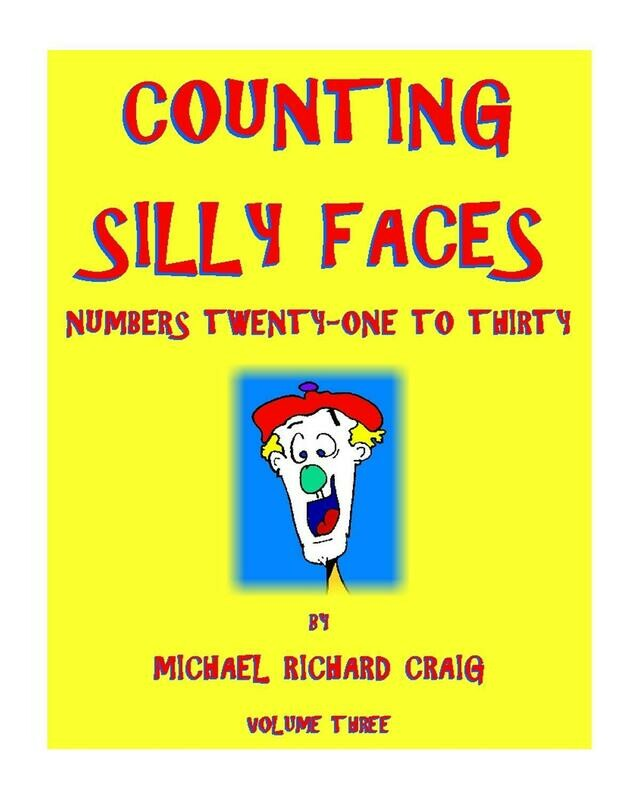 Counting Silly Faces Numbers 21-30