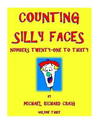 Counting Silly Faces E-Flipbook Numbers 21-30