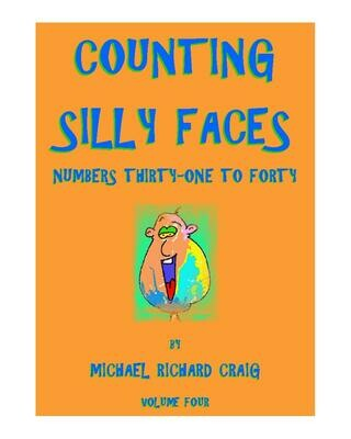 Counting Silly Faces E-Flipbook Numbers 31-40