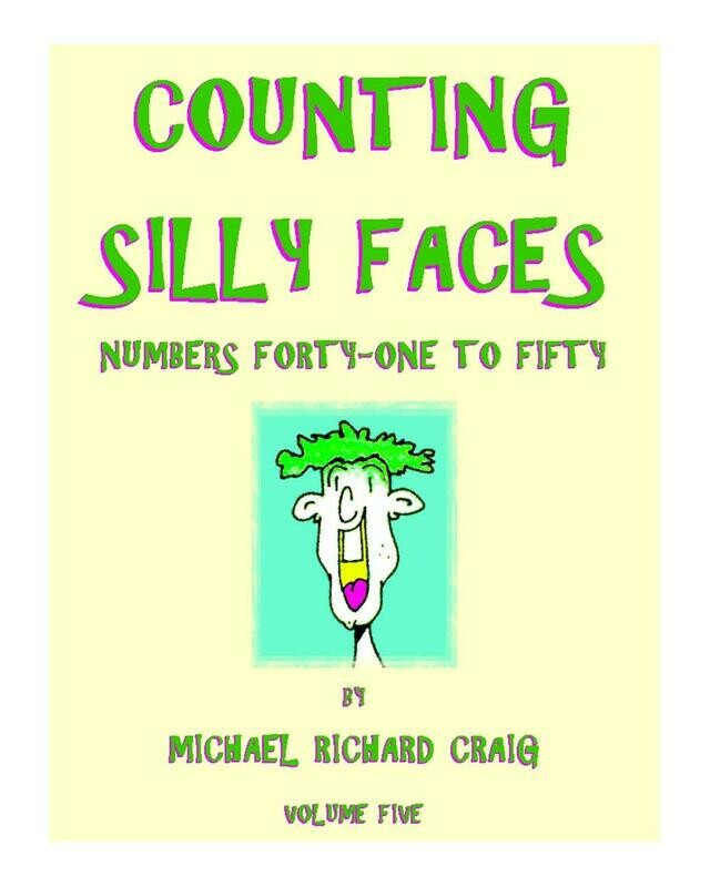 Counting Silly Faces Numbers 41-50