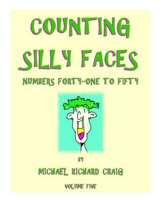 Counting Silly Faces E-Flipbook Numbers 41-50