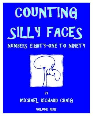 Counting Silly Faces E-Flipbook Numbers 81-90
