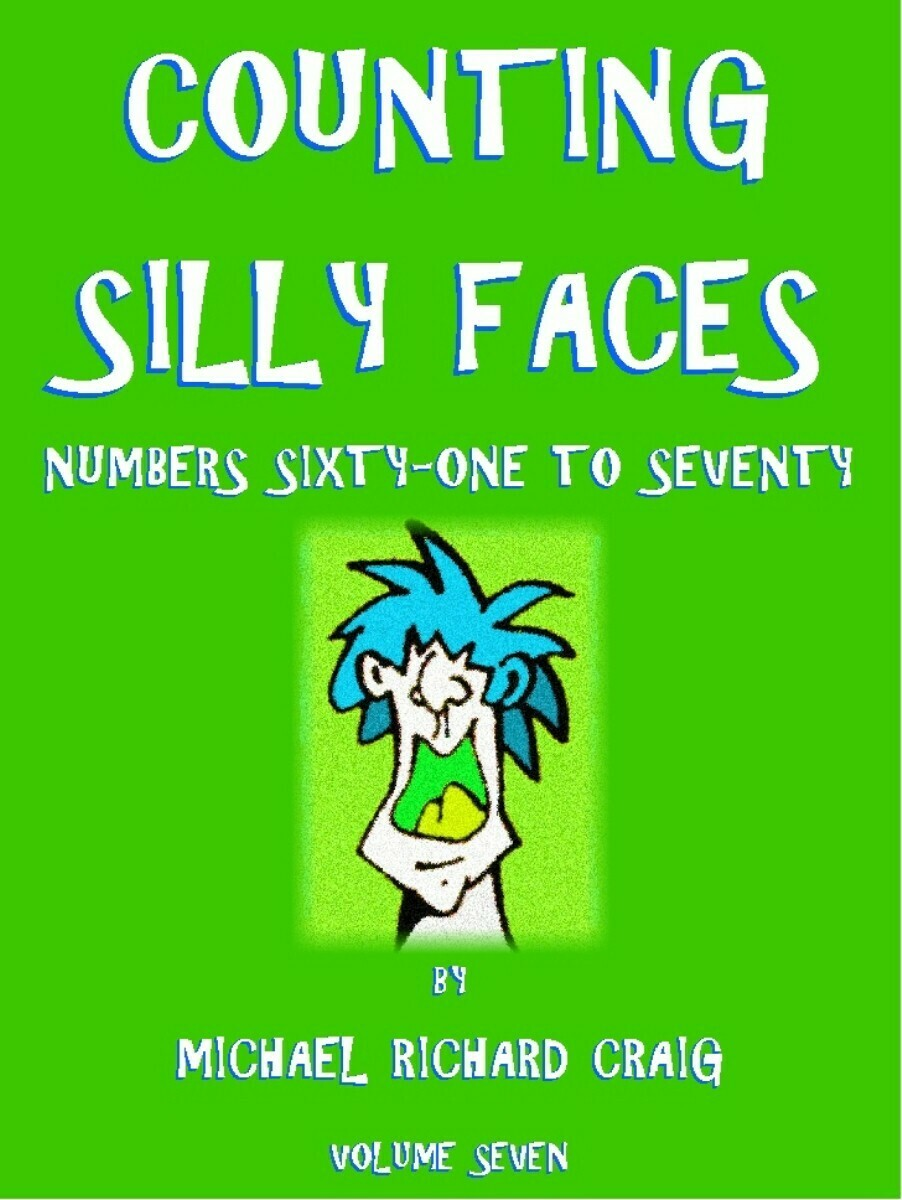 Counting Silly Faces E-Flipbook Numbers 61-70