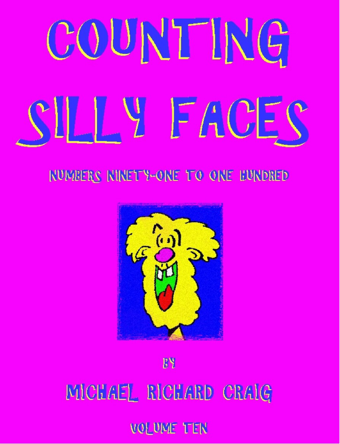Counting Silly Faces E-Flipbook Numbers 91-100