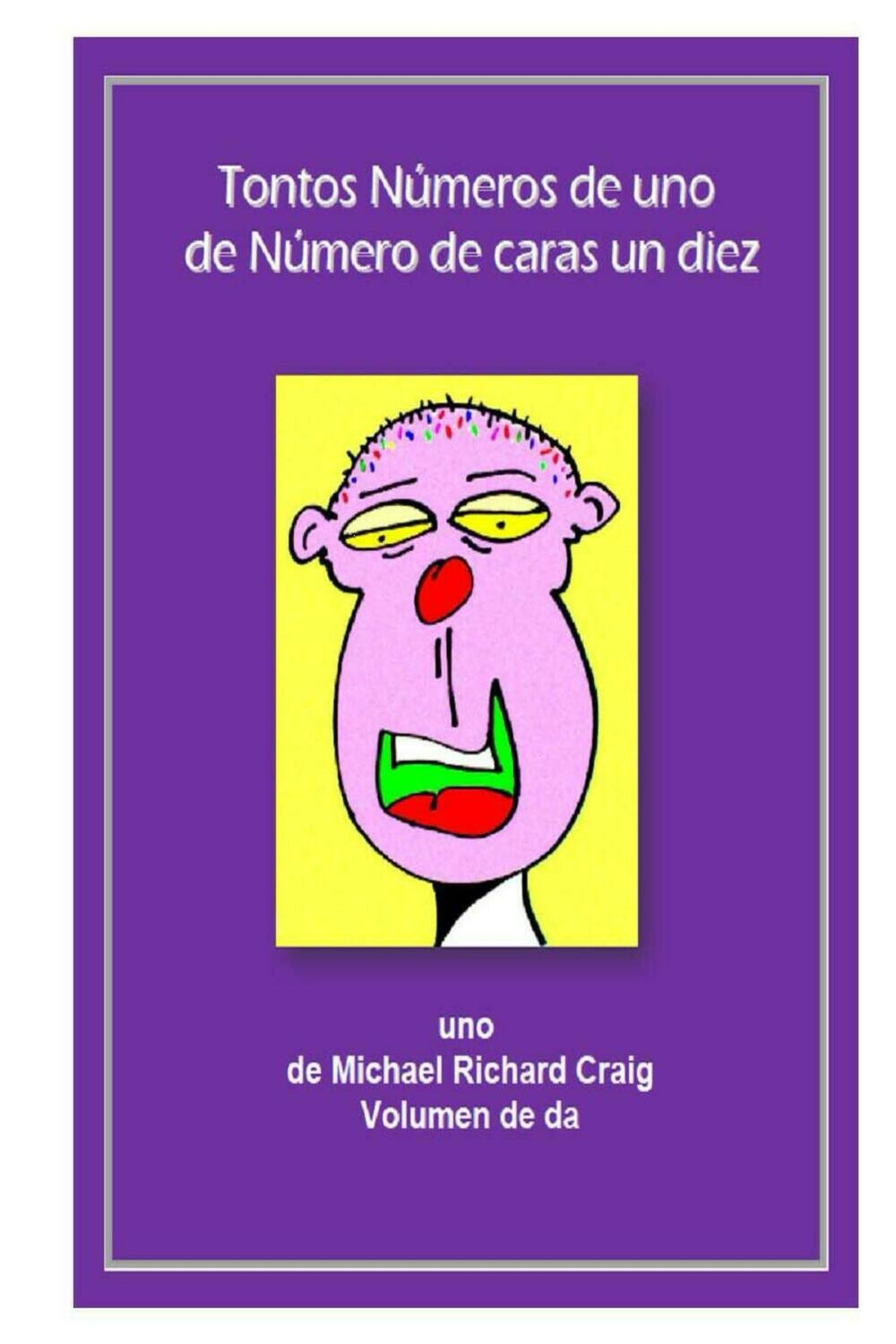 Counting Silly Faces Numbers 1-10 French E-Flipbook Edition