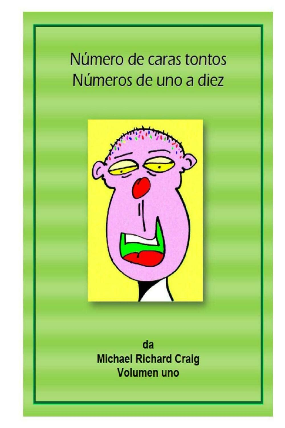 Counting Silly Faces Numbers 1-10 Spanish E-Flipbook  Edition
