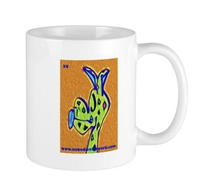 Silly Face Dog Mug