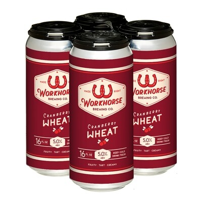 Cranberry Wheat Ale - To Go