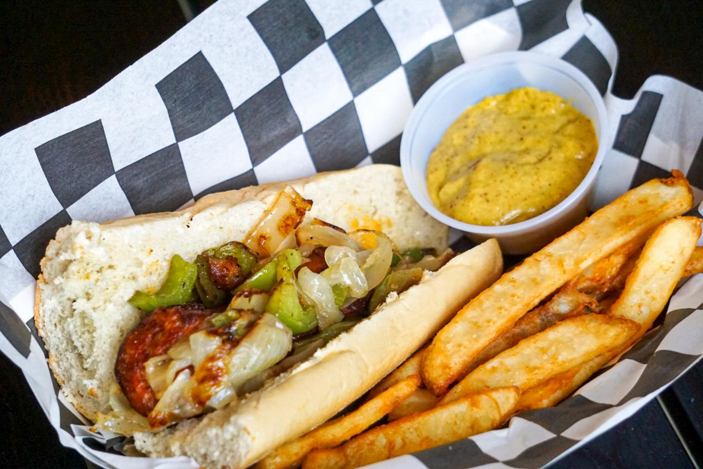 Hot Sausage Sandwich