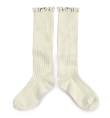 Ruffle Knee Socks