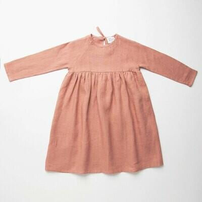 Hopscotch Dress Dusty Rose