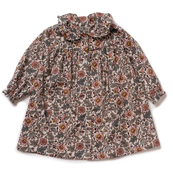 Baby Dress-Liberty Ecru