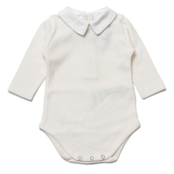 Collared Baby Bodysuit